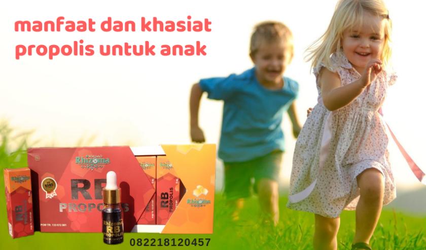 manfaat propolis untuk anak, propolis untuk anak, propolis aman untuk anak