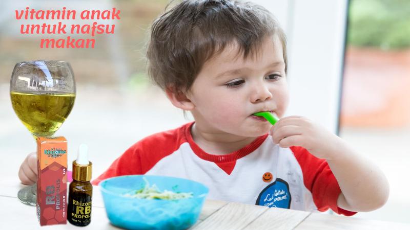 vitamin anak untuk nafsu makan, obat nafsu makan anak, vitamin penambah nafsu makan anak