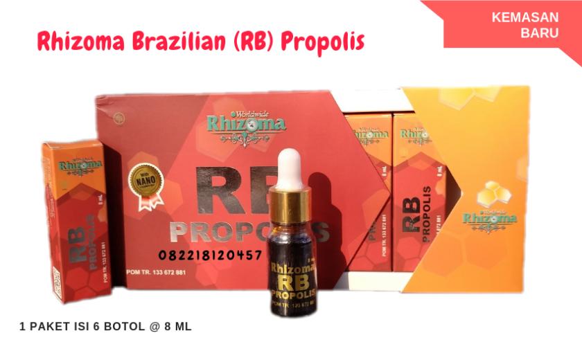 rhizoma brazilian propolis, rb propolis